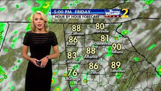 Possible strong storms could impact your commute home tonight