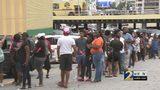 Hundreds line up for Varsity's 90-cent deals on birthday