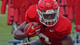 Georgia tailback Zamir White (3) during the Bulldogs' practice Monday, Aug. 6, 2018, at the Woodruff Practice Fields on the Georgia campus in Athens. (Photo: Steven Colquitt/UGA Sports via the AJC)