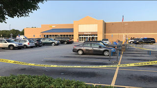 Man dies after shooting in Walmart parking lot, police say