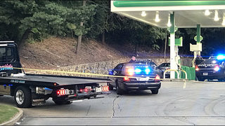 Grandmother pinned between car and gas pump after wreck at DeKalb gas station