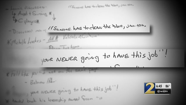 Racial slur and hand-written note trigger workplace lawsuit | WSB-TV
