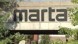 MARTA station in College Park