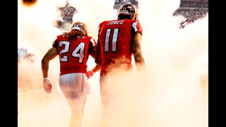 Julio Jones does not report at start of Falcons