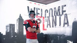 "Matt Ryan poses in the ""Welcome to Atlanta"" Falcons remix video. Photo courtesy of Atlanta Falcons Facebook Page"