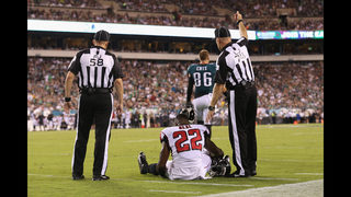 Falcons starting safety out for season with knee injury