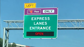 Drivers: You now need to pay to use new Northwest Corridor express lanes