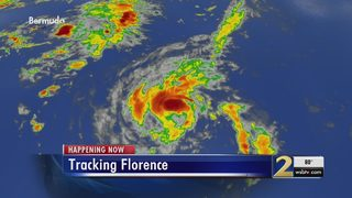 Florence expected to intensify to Category 3 hurricane