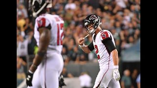 After first week, Falcons are the league