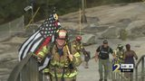 Local firefighters climb Stone Mountain in honor of 9/11 heroes