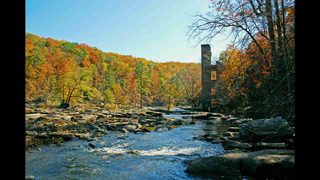 This Georgia city was just named one of the best small towns for fall foliage