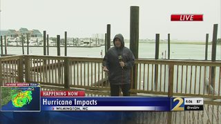 North Carolina homeowners concerned about storm surge