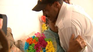 Emotional reunion between MARTA bus driver, woman he saved during violent attack