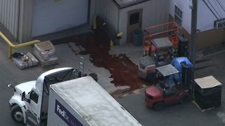4 people taken to hospital as acid spill shuts down chicken plant