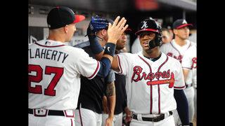 Braves beat Phillies; 'Magic Number