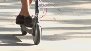 Group of teens accused of committing crimes while riding scooters; warrant issued