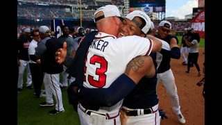 Photos: Braves beat the Phillies, sew up NL East title