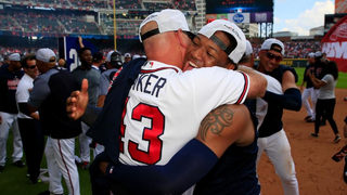 NL EAST CHAMPS! Atlanta Braves win their first division title in 5 years