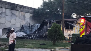Neighbors report seeing man on fire as he ran from burning home