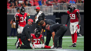Falcons lose another starter for the year to injury