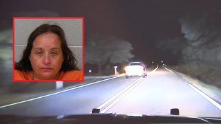 Mom arrested after wild high-speed police chase; 5-year-old girl rescued