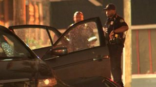 Police: College student says woman shot her as she drove near campus
