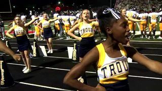 Troup County High School Cheerleaders