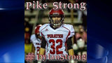 Pike County High School Football player Dylan Thomas injured during game