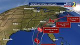 Here is the latest track as tropical depression 14 has officially been upgraded to Tropical Storm Michael.