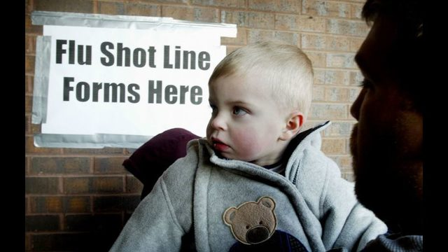 Thousands of young children are not getting vaccines, survey finds