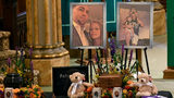 Combined funeral held for 4 sisters, 4 family members killed in NY limo crash.
