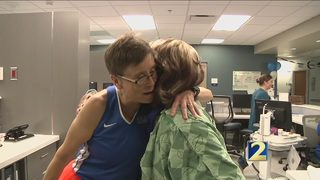 Cancer patients make laps and raise awareness at Winship