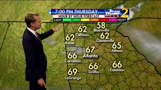 A cool evening ahead for your Thursday
