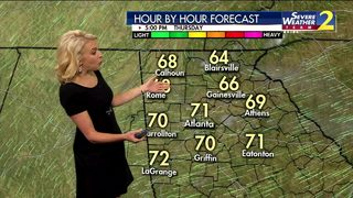 Cooler temperatures are here to stay through the weekend