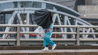 Rain moving through metro Atlanta ahead of chilly temps