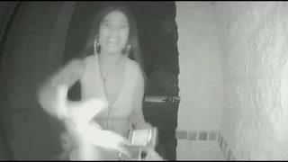 Woman seen on video leaving toddler on stranger