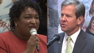 Candidates Abrams, Kemp respond to stories making rounds on social media
