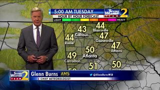 Cloudy skies, cool temps for morning commute