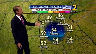 Cooler, dry evening for Tuesday