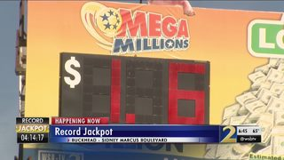 Georgia Lottery CEO says true winner from record Mega Millions drawing are the students.