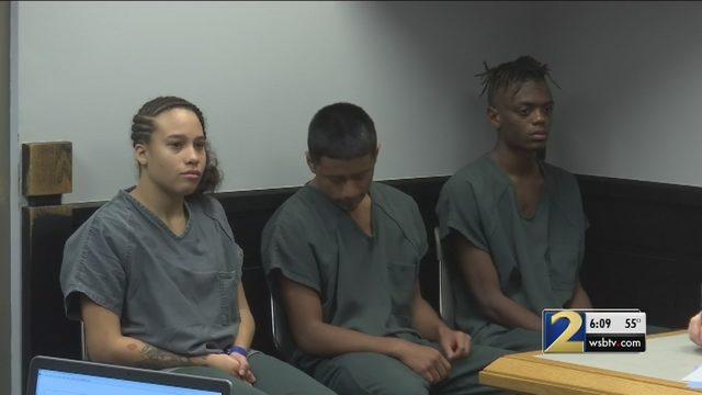 ATLANTA GEORGIA MURDER INVESTIGATION: Teens accused of murder claim
