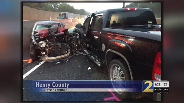 I-75 WRONG WAY CRASH: Driver went through 8 warning arms