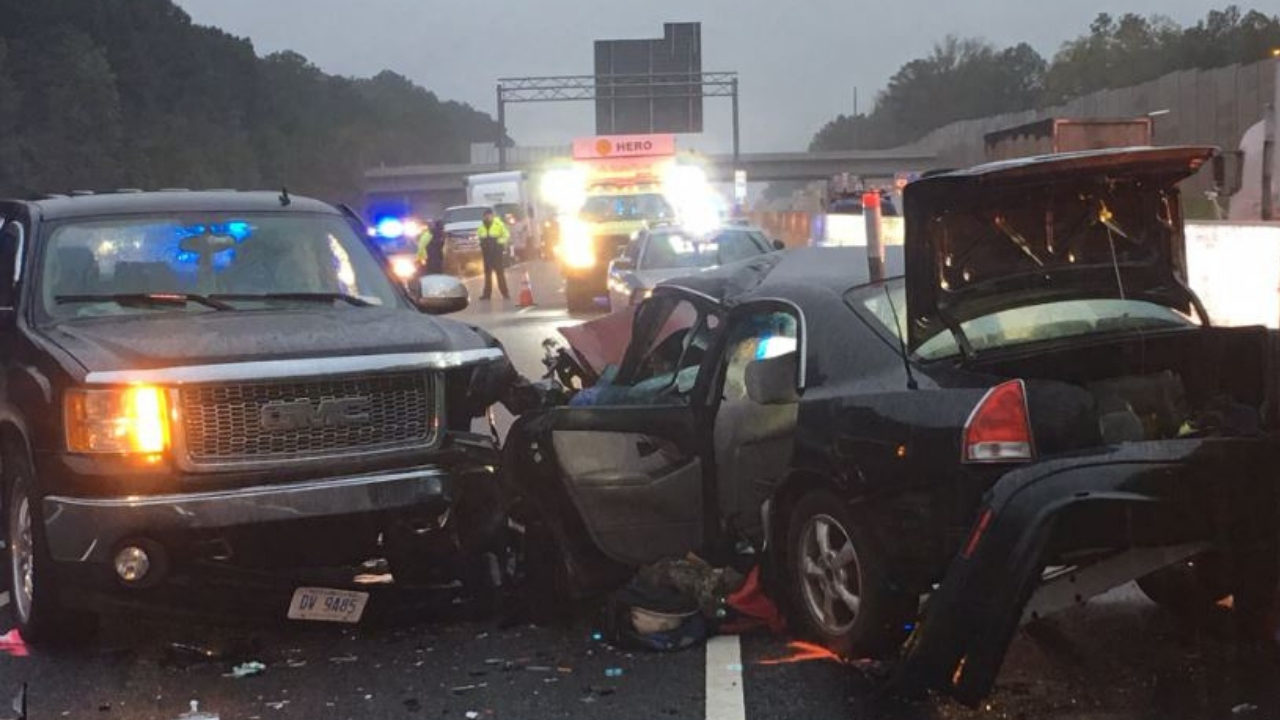 I-75 WRONG WAY CRASH: Driver went through 8 warning arms