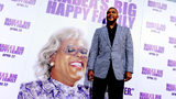 """Writer/producer/director/actor Tyler Perry arrives at a screening of Lionsgate Films' """"Tyler Perry's Madea's Big Happy Family"""" at the Cinerama Dome Theater on April 19, 2011 in Los Angeles, California. (Photo by Kevin Winter/Getty Images)"""