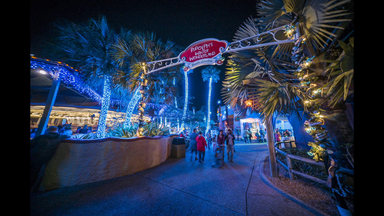 christmas town is included with any daily admission or annual pass and is open until 10 pm on select dates - Busch Gardens Christmas Town Discount Tickets