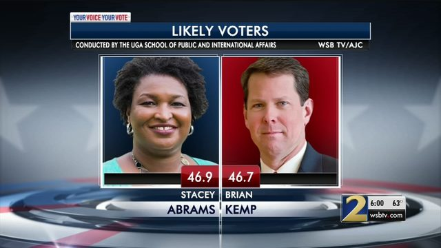 georgia election poll results