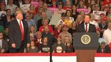 President Trump campaigns for Brian Kemp ahead of gubernatorial election