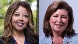 Sixth District Democratic challenger Lucy McBath, left, and Republican U.S. Rep. Karen Handel.