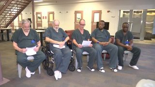 Inmates who sent heartfelt letter to sheriff after officer