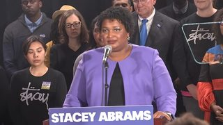Abrams acknowledges Kemp will be governor, says speech is
